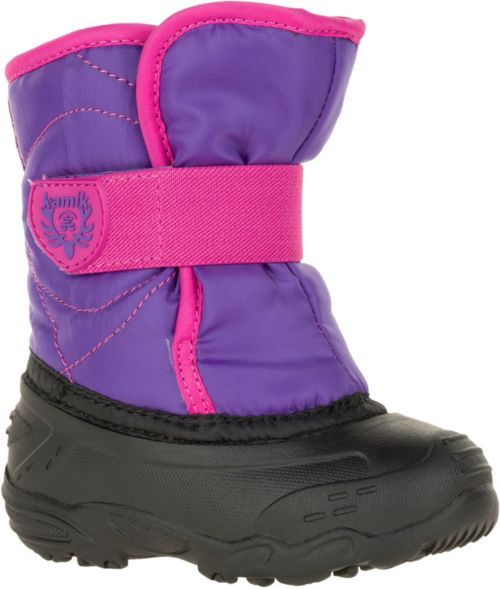 54dc84bdb Kamik Toddler Snowbug 3 Easy-On Waterproof Insulated Winter Boots ...