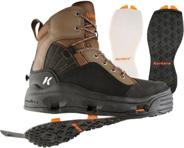 Korkers Buckskin Wading Boots w/ Felt and Kling-On Soles product image