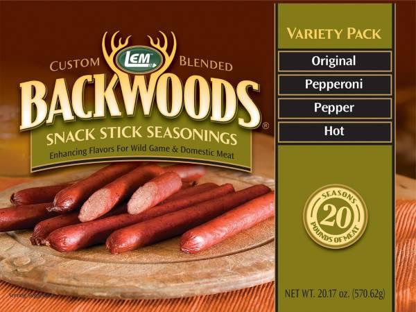 LEM Backwoods Snack Stick Seasoning Variety Pack product image