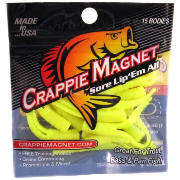 Leland's Crappie Magnet Soft Bait product image