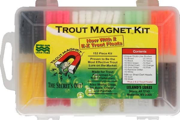 Leland Trout Magnet 152 Piece Soft Bait Kit product image