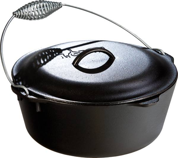 Lodge Cast Iron 7 Quart Dutch Oven with Bail Handle product image