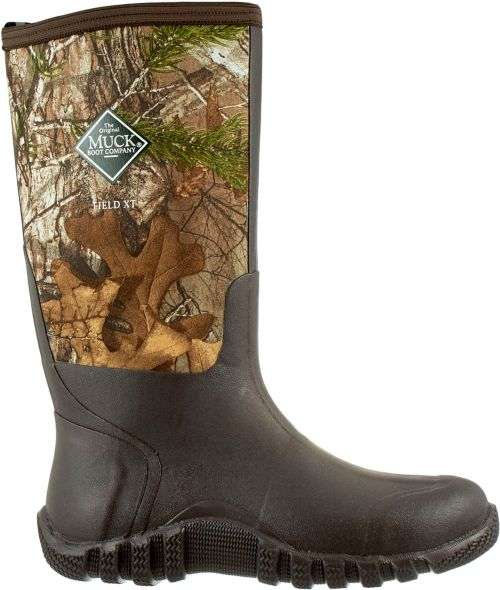 4391885e2e8 Muck Boots Men s Fieldblazer Realtree Xtra Rubber Hunting Boots ...