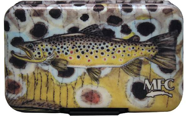 Montana Fly Company Currier's Brown Trout Fly Box with Optional Leaf product image