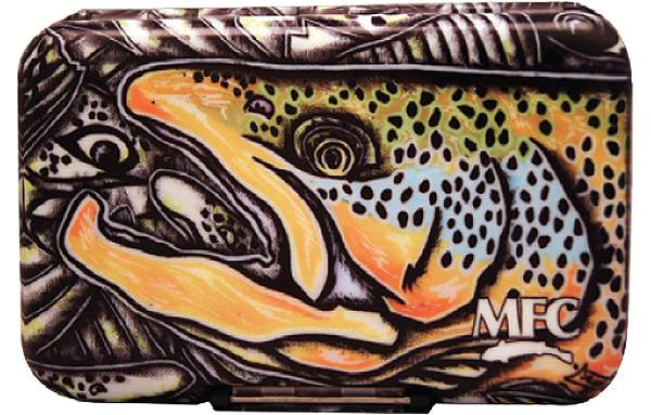Montana Fly Company Estrada's Brown Trout Fly Box with Optional Leaf product image
