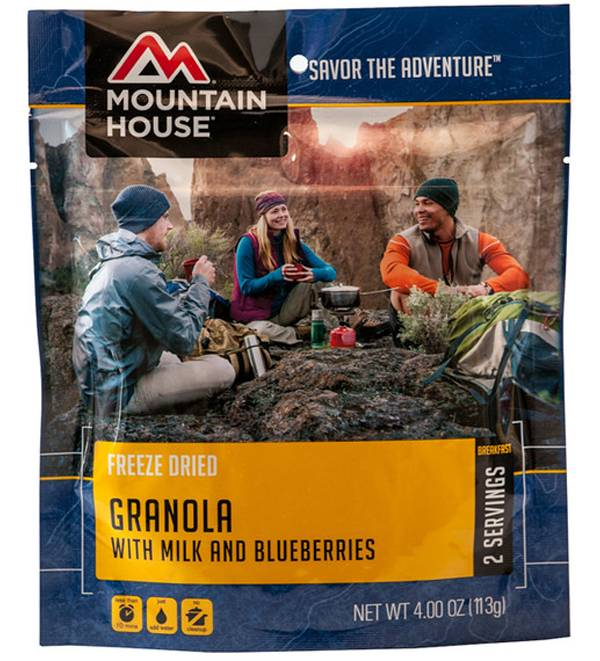 Mountain House Granola with Blueberries and Milk product image