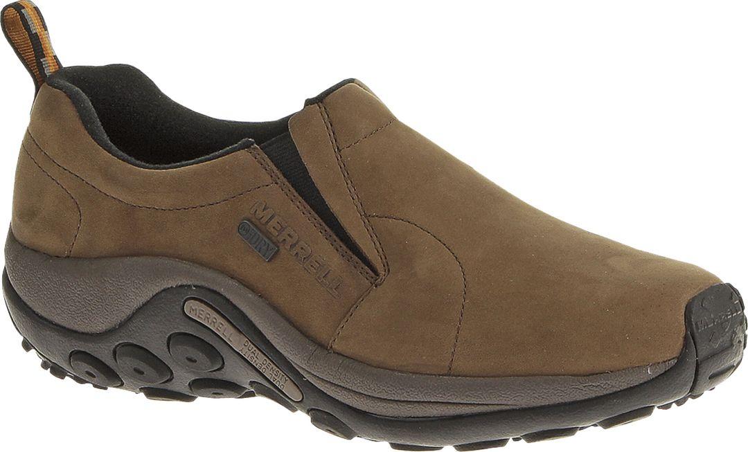 fa2f97f5b65e0 Merrell Men's Jungle Moc Nubuck Waterproof Casual Shoes   DICK'S ...