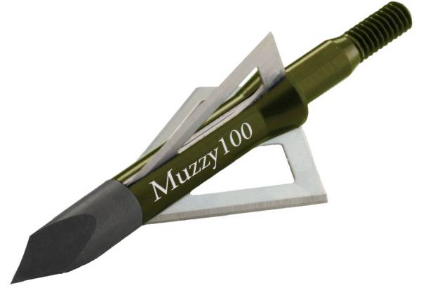 Muzzy 3-Blade Screw-In Broadheads - 6 Pack product image