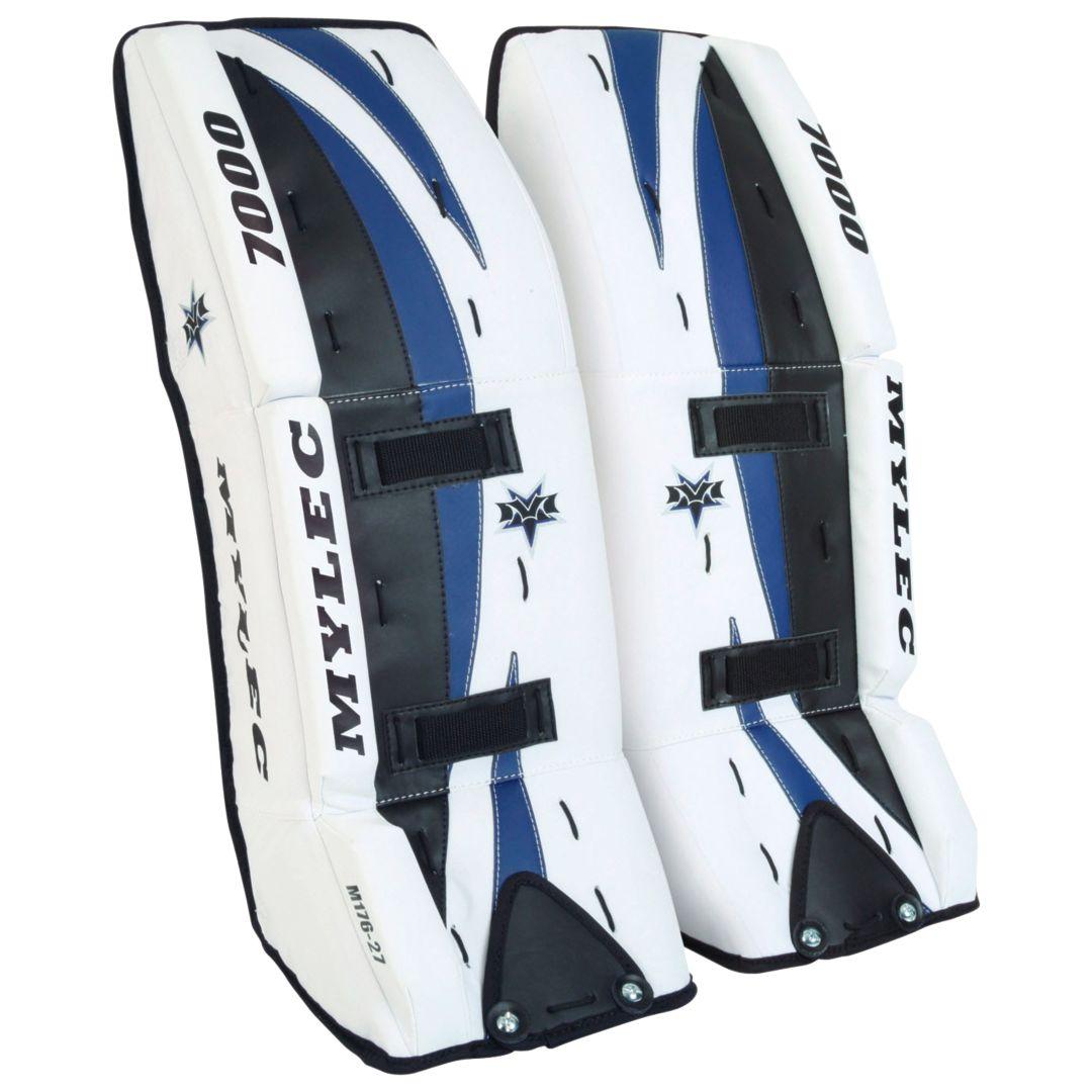 Mylec 7000 Series Ultra Lite Ice Street Hockey Goalie Pads Dick S
