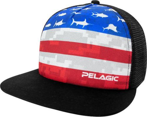 ab83f7ef2f379 Pelagic Men s Americamo Trucker Hat 1