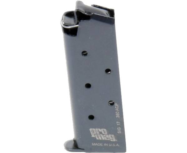 Pro Mag Sig Sauer P238 .380 ACP Blue Steel Magazine – 6 Round product image