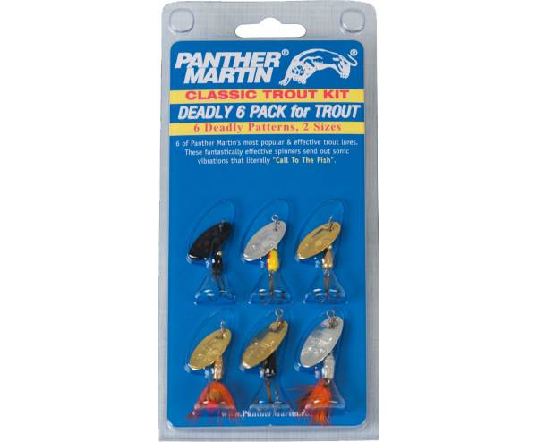 Panther Martin Classic Trout Kit – 6 Pack product image