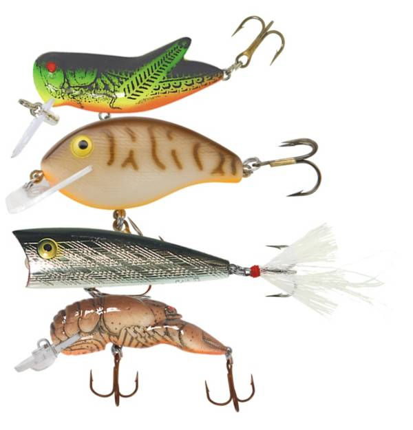 Rebel Classic 4-Pack Critters Lure Kit product image