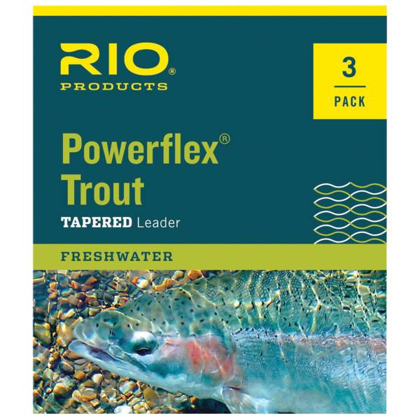 RIO Powerflex Trout Leaders - 3 Pack product image