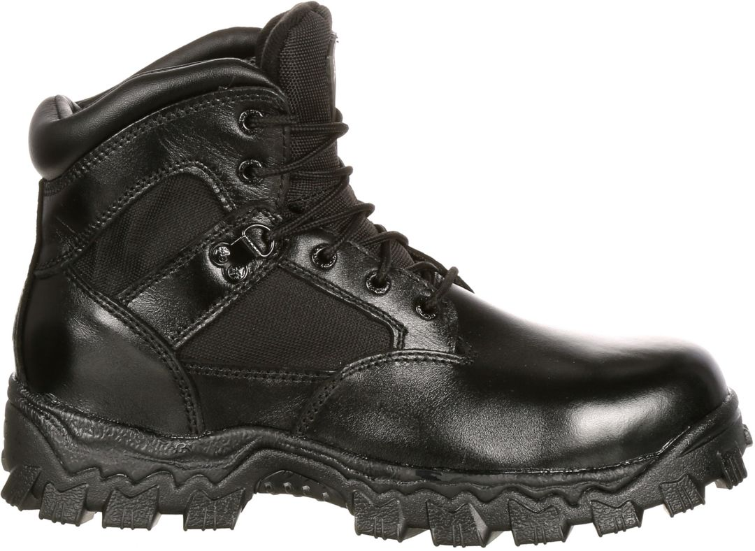 "e4aaa74412e Rocky Men's AlphaForce 6"" Waterproof Composite Toe Work Boots"