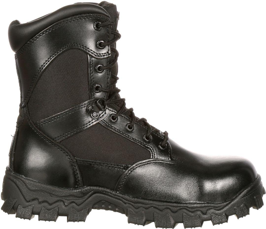 072989bfb88 Rocky Men's AlphaForce 8'' Waterproof Composite Toe Work Boots