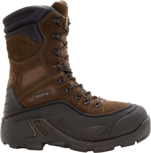"6f20bdad9ee6 Rocky Men s BlizzardStalker 9"" 1200g Waterproof Steel Toe Work Boots ..."
