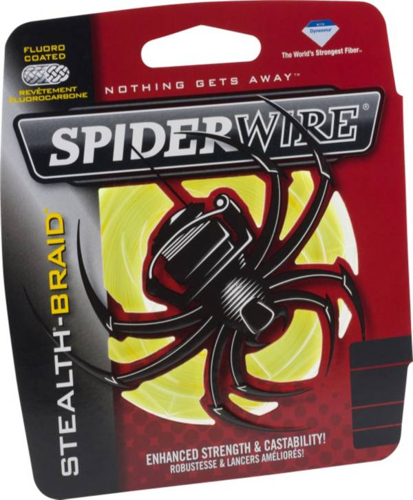 SpiderWire Stealth Hi-Vis Yellow Braided Fishing Line product image