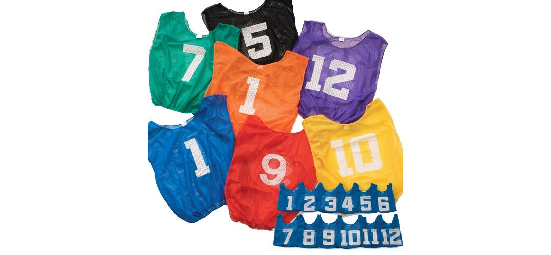 882eae7c3 BSN Sports Adult Lightweight Numbered Practice Pinnies - 12 Pack | DICK'S  Sporting Goods