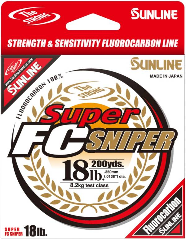 Sunline Super FC Sniper Fluorocarbon Fishing Line product image