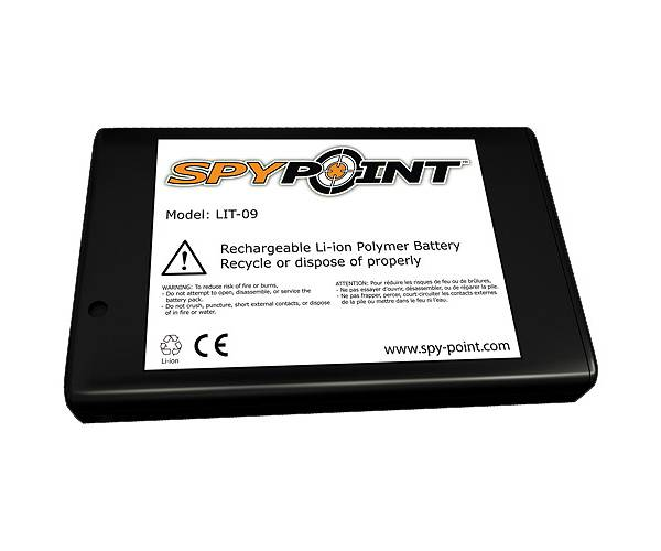 SpyPoint Rechargeable Lithium Battery product image