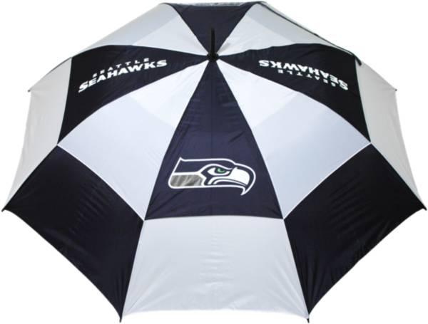 "Team Golf Seattle Seahawks 62"" Double Canopy Umbrella product image"