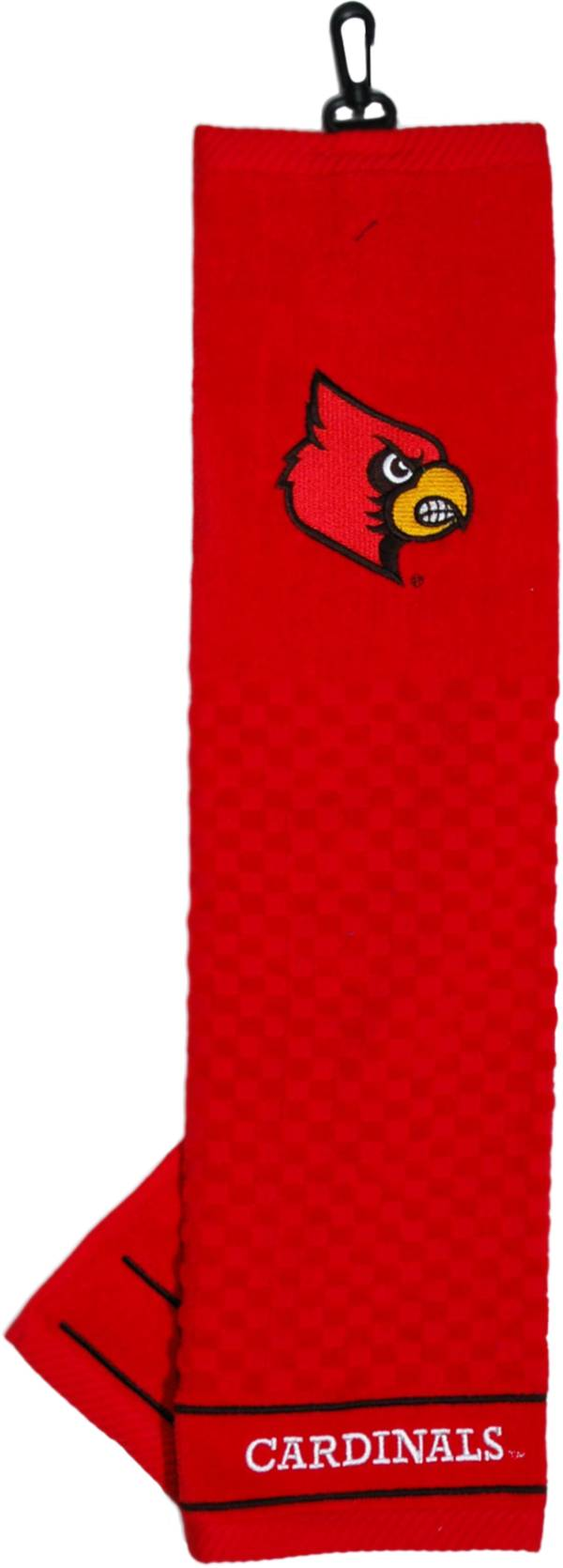 Team Golf Louisville Cardinals Embroidered Towel product image