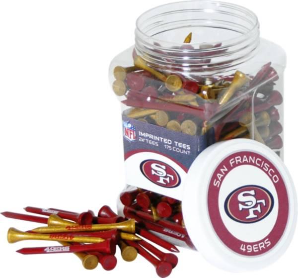 Team Golf San Francisco 49ers 175 Count Golf Tee Jar product image