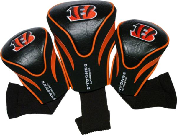 Team Golf Cincinnati Bengals Contour Sock Headcovers - 3 Pack product image