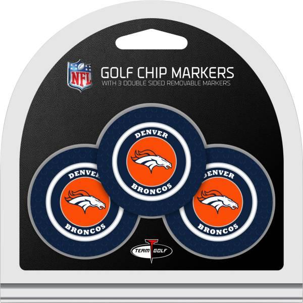 Team Golf Denver Broncos Golf Chips - 3 Pack product image