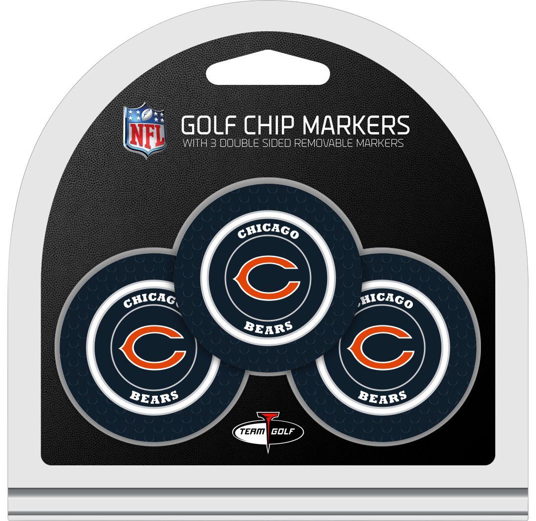 brand new 25e2e 887ed Team Golf Chicago Bears Poker Chips Ball Markers - 3-Pack