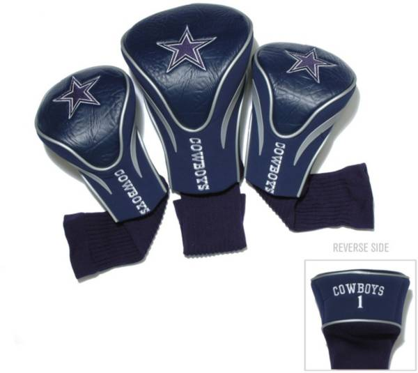 Team Golf Dallas Cowboys Contour Sock Headcovers - 3 Pack product image