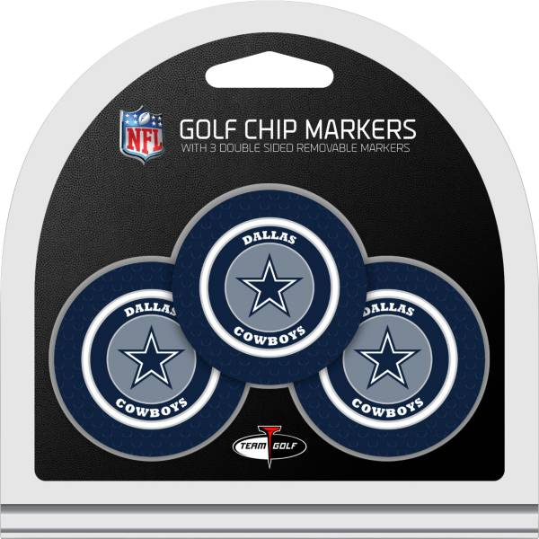 Team Golf Dallas Cowboys Poker Chips Ball Markers - 3-Pack product image