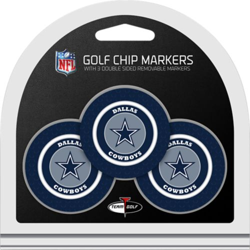 42459ecff Team Golf Dallas Cowboys Poker Chips Ball Markers - 3-Pack. noImageFound. 1