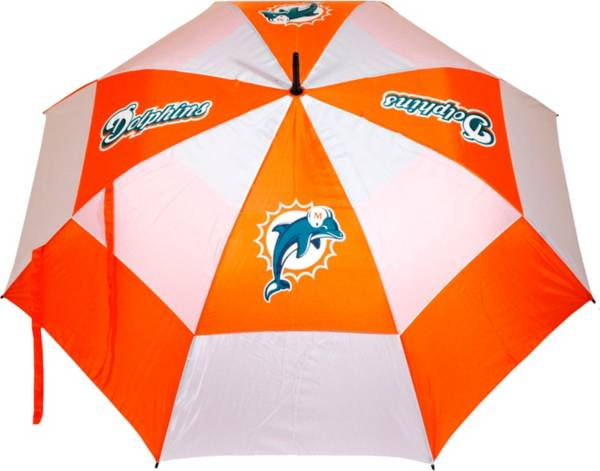 """Team Golf Miami Dolphins 62"""" Double Canopy Umbrella product image"""