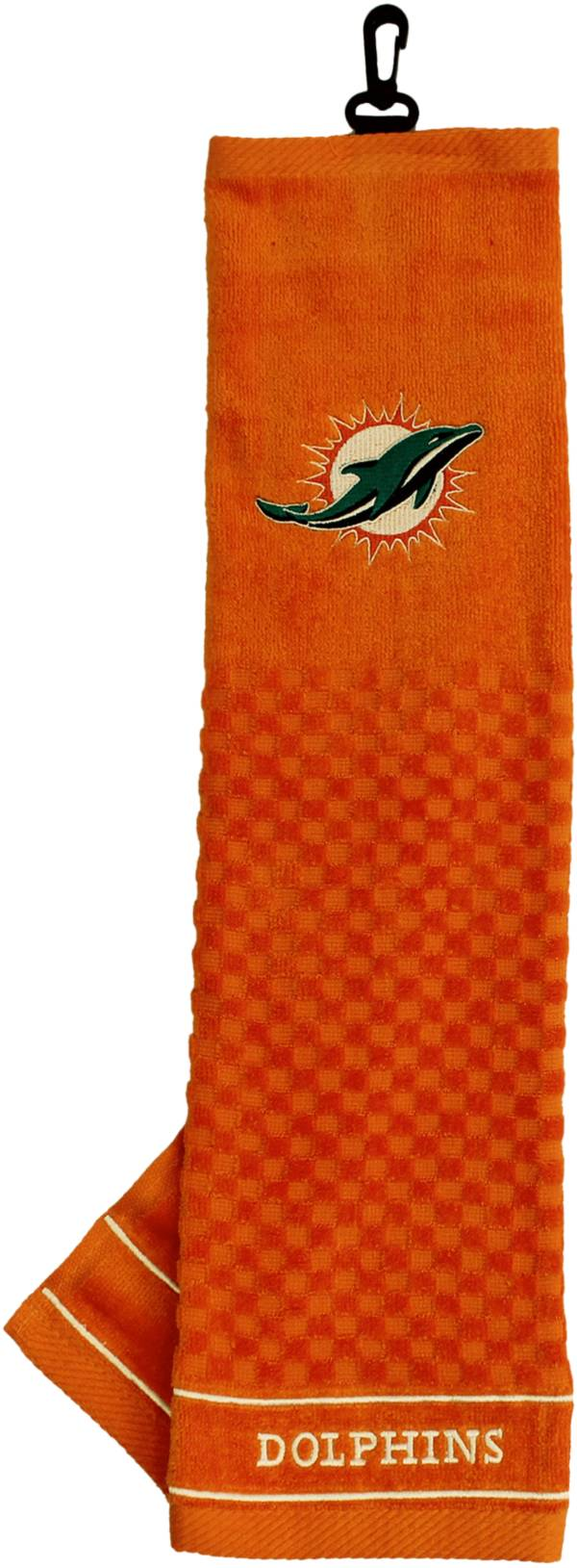 Team Golf Miami Dolphins Embroidered Golf Towel product image
