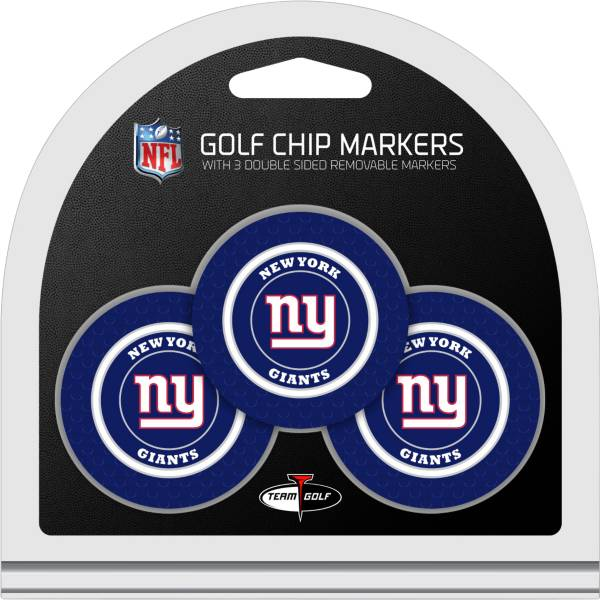 Team Golf New York Giants Golf Chips - 3 Pack product image