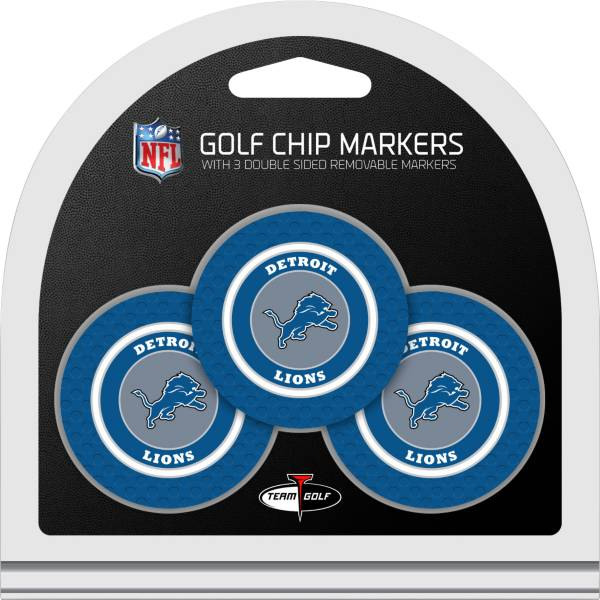 Team Golf Detroit Lions Golf Chips - 3 Pack product image