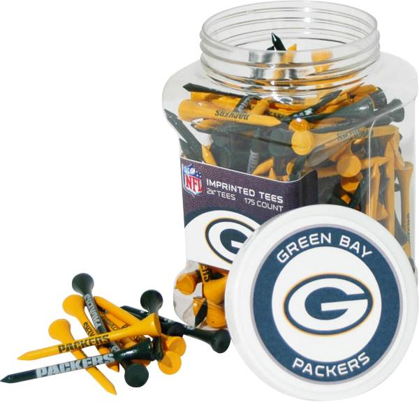Team Golf Green Bay Packers 175 Count Golf Tee Jar product image