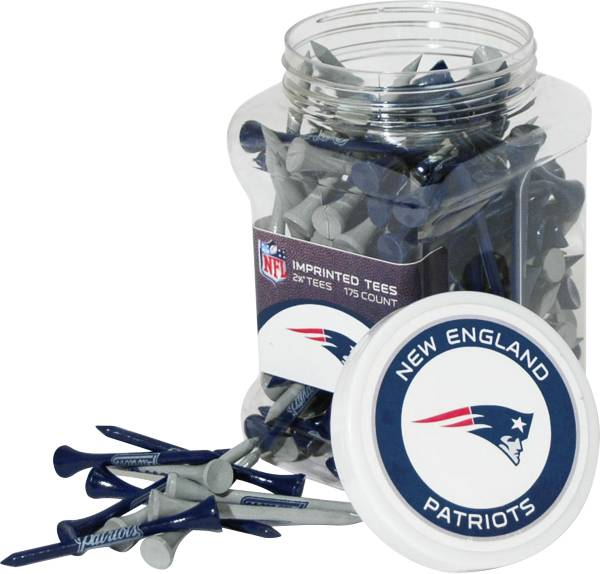 Team Golf New England Patriots 175 Count Golf Tee Jar product image
