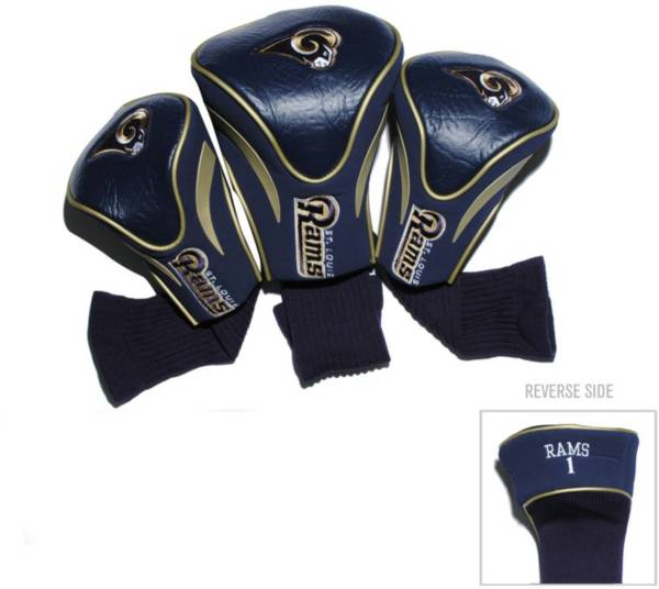 Team Golf St. Louis Rams 3-Pack Contour Headcovers product image