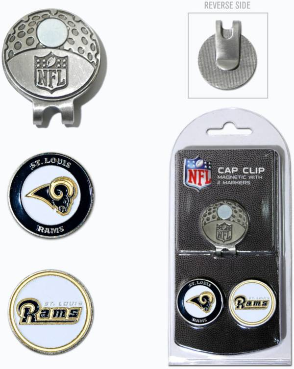 Team Golf St. Louis Rams Two-Marker Cap Clip product image