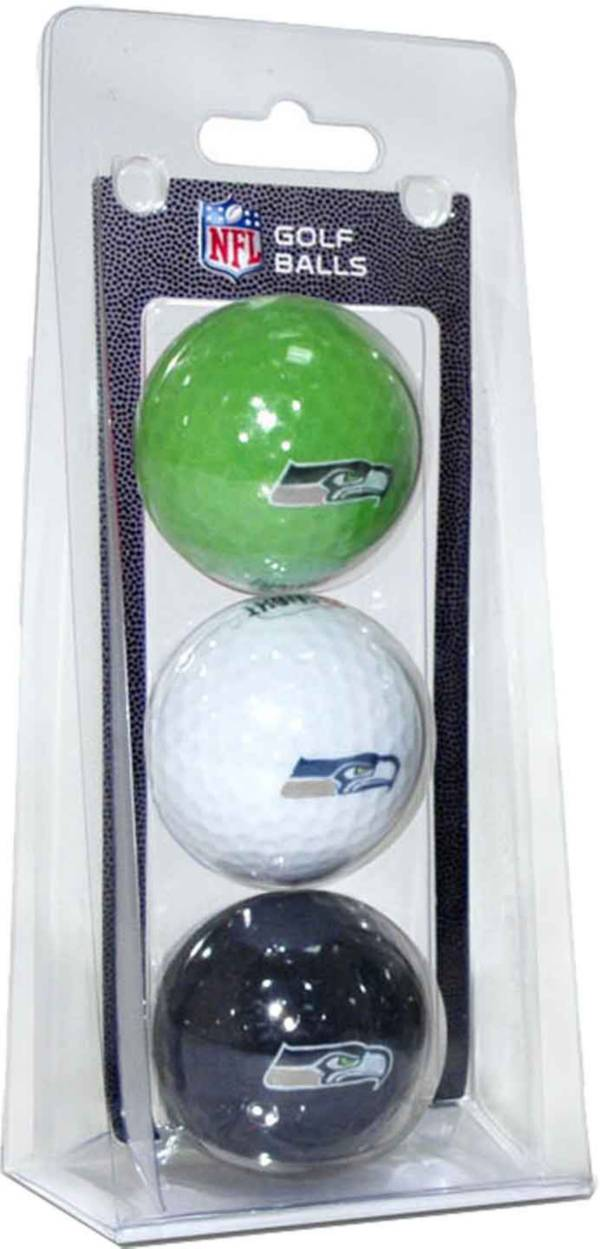 Team Golf Seattle Seahawks Golf Balls – 3 Pack product image
