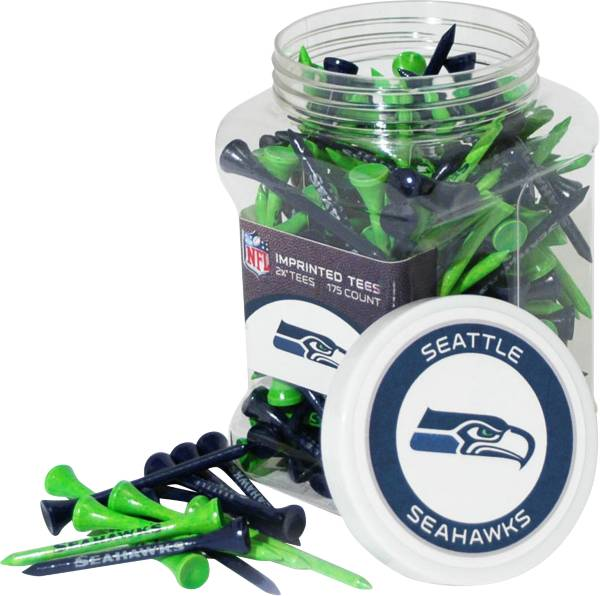 Team Golf Seattle Seahawks 175 Count Golf Tee Jar product image
