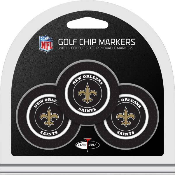 Team Golf New Orleans Saints Golf Chips - 3 Pack product image