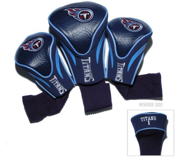 Team Golf Tennessee Titans 3-Pack Contour Headcovers product image