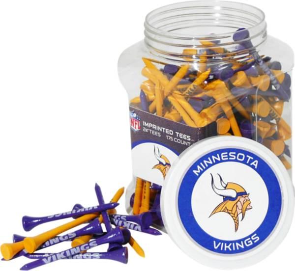 Team Golf Minnesota Vikings 175 Count Golf Tee Jar product image