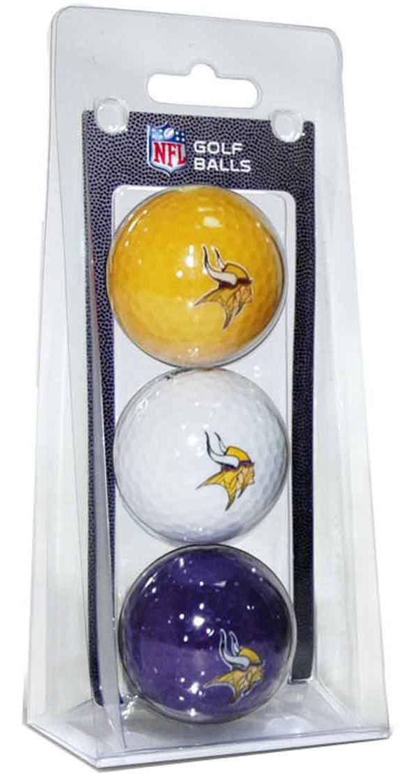 Team Golf Minnesota Vikings Golf Balls – 3 Pack product image