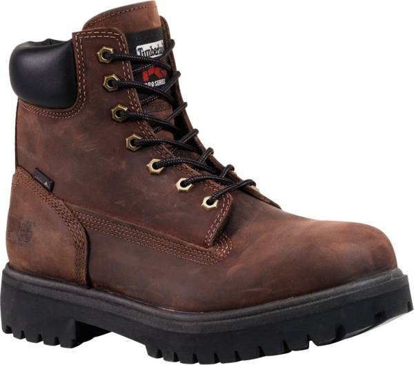 Timberland PRO Men's Direct Attach 6'' 200g Waterproof Steel Toe Work Boots product image