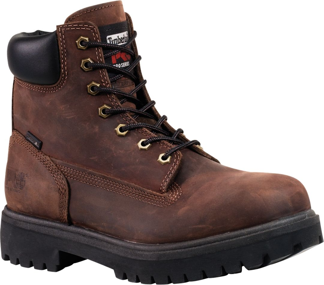 f68bd0f4562 Timberland PRO Men's Direct Attach 6'' 200g Waterproof Steel Toe Work Boots